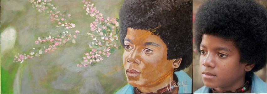 Michael Jackson by lhommeloiret